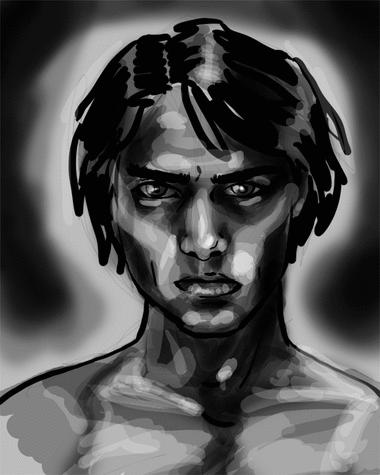so metal he bleeds darkness