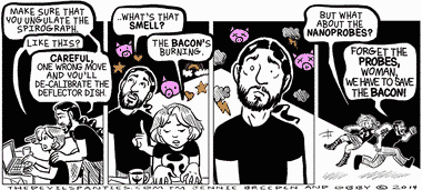 Always save the Bacon.