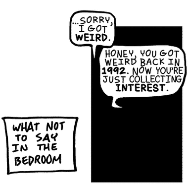 but weird isn't alway a bad thing