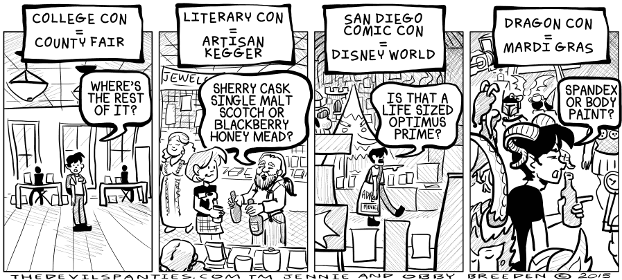 I did some scotch research for this comic.