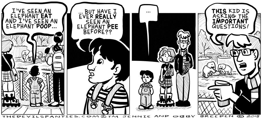 Overheard at the zoo.