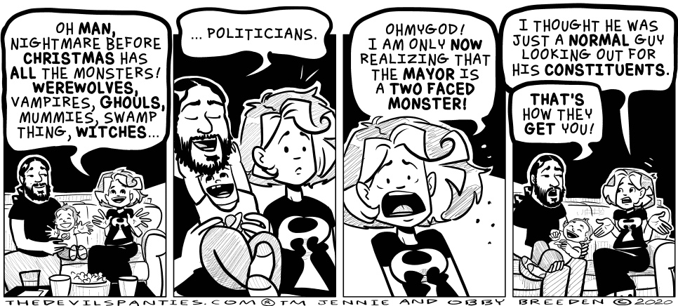 Got crooked government on the brain for some reason.
