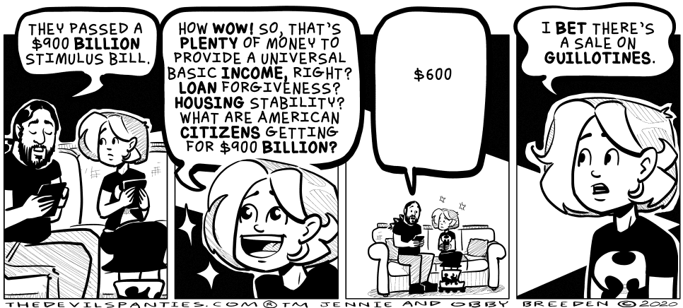 I'm a big advocate for the concept of universal basic income. Minimum wage can't pay for shit.