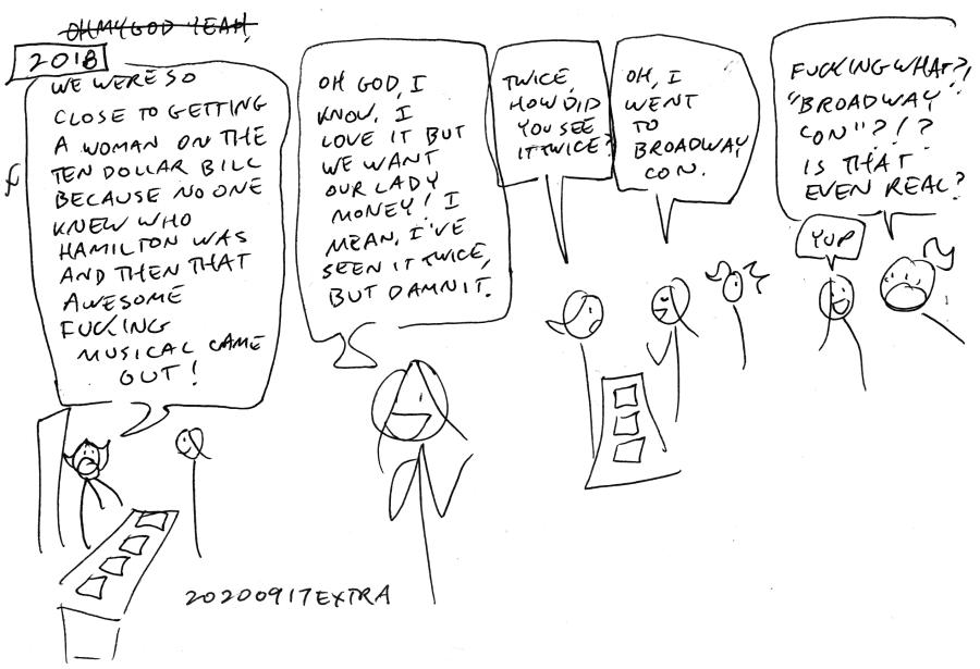 A conversation at Dragon Con.