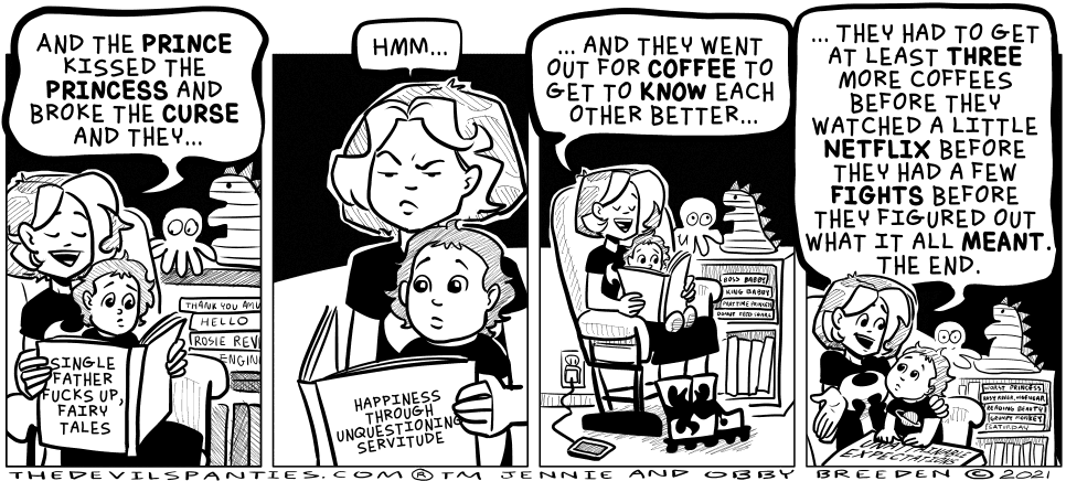 'Liz' is actually 3 and she said she wanted her shirt in the comic to be black with a red planet.