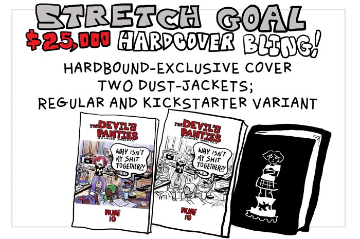 25k stretch goal copy
